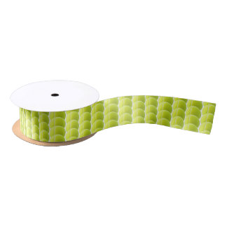 Tennis Ball Ribbon Satin Ribbon