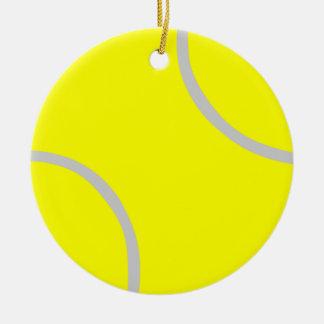 Tennis Ball Round Ceramic Decoration