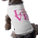 Tennis Ball Sleeveless Dog Shirt