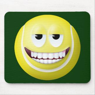 Tennis Ball Smiley Face 2 Mouse Mat