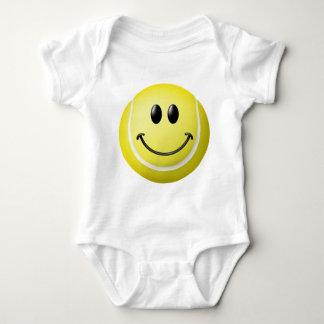 Tennis Ball Smiley Face Baby Bodysuit