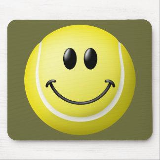 Tennis Ball Smiley Face Mouse Mat