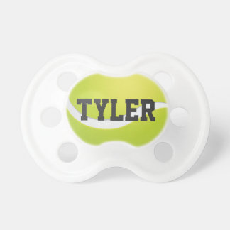 Tennis Ball Sports Pacifier