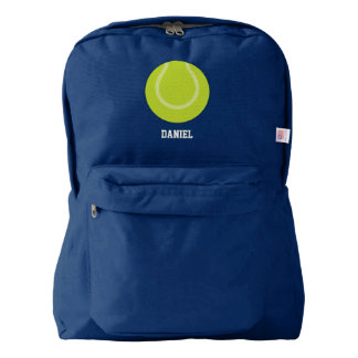 Tennis Ball Sports Themed Backpack