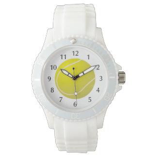 Tennis ball sports wrist watch