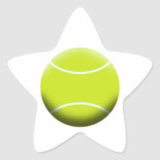 TENNIS BALL STAR STICKER