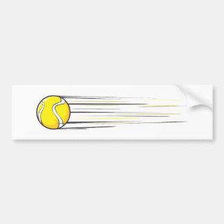 Tennis Ball Swish Bumper Sticker