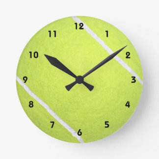 Tennis Ball Wallclocks