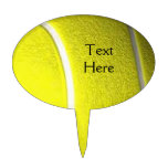 Tennis Ball with Black Tex