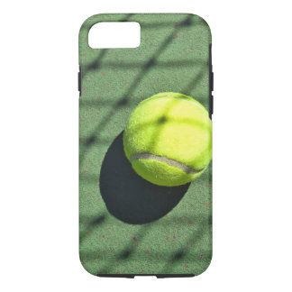 tennis ball with net shadow iPhone 7 case