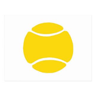 Tennis Ball Yellow Post Cards
