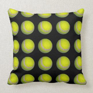 Tennis_Balls,_Black_Yellow_Big_Lounge_Cushion. Cushion