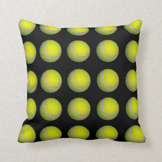 Tennis_Balls,_Black_Yellow_Lounge_Cushion. Cushion