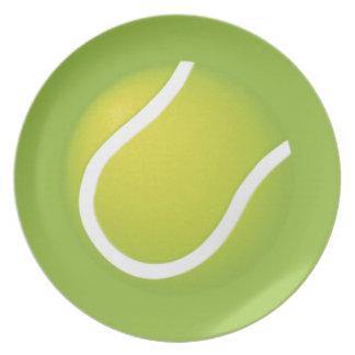 Tennis Balls Dinner Plates