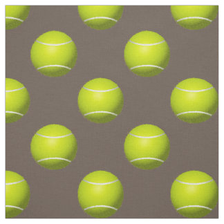 tennis balls on your choice background color fabric