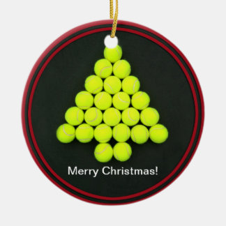 Tennis Balls Tree Ornament