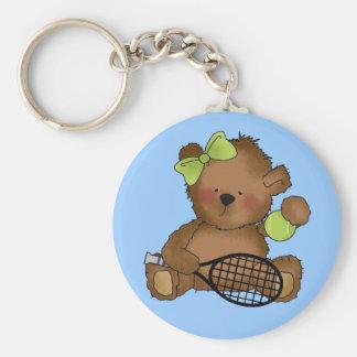Tennis Bear Key chain