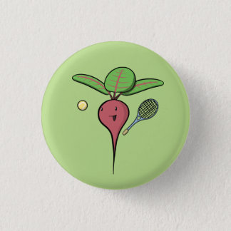 Tennis Beet 3 Cm Round Badge