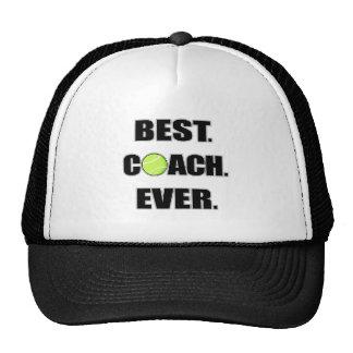 Tennis Best Coach Ever Cap