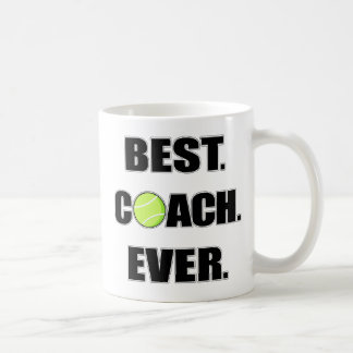 Tennis Best Coach Ever Coffee Mug