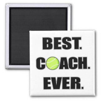 Tennis Best Coach Ever Magnet
