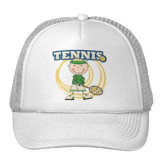 TENNIS - Blonde Boy T-shirts and Gifts Trucker Hat