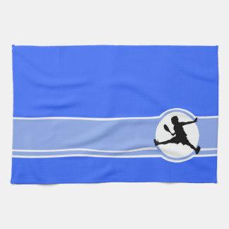Tennis; Blue Tea Towel