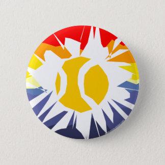 Tennis Break 6 Cm Round Badge