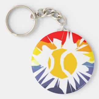 Tennis Break Key Ring