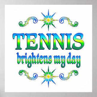 Tennis Brightens Print