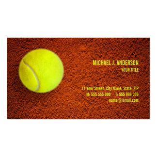 Tennis business card