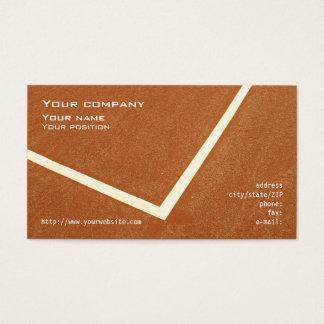 """""""Tennis"""" business card"""
