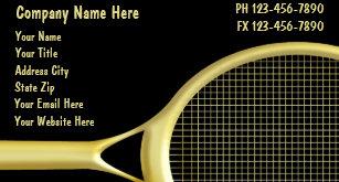 Tennis business cards zazzle uk tennis business cards colourmoves