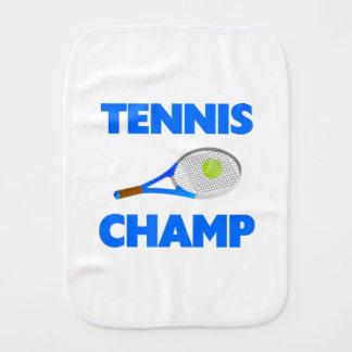 Tennis Champ Burp Cloth