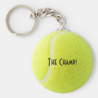Tennis Champ Keychain