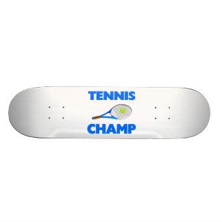 Tennis Champ Custom Skateboard