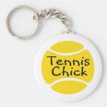 Tennis Chick Key Chains