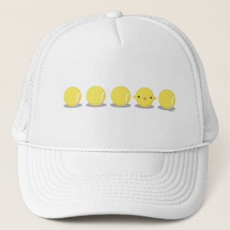 Tennis Chick Trucker Hat