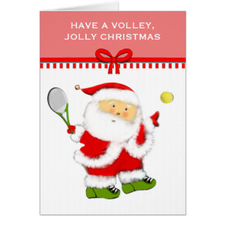 Tennis Christmas Card