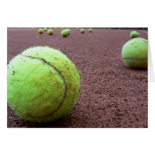 Tennis Clay Court Card