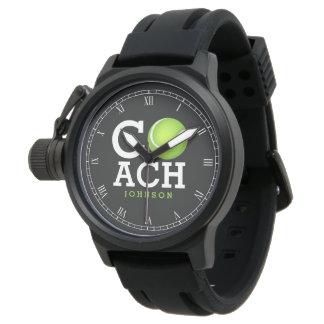 Tennis Coach Personalized Watch