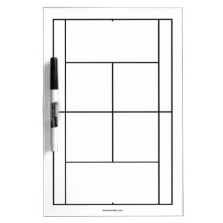 Tennis court materials for lessons | Whiteboard Dry Erase Boards
