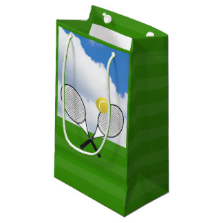 Tennis court & TENNIS RACKETS Small Gift Bag
