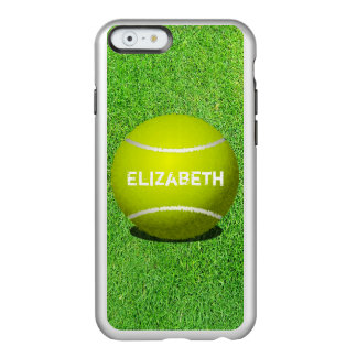 Tennis Custom Ball iPhone Feather Case