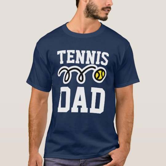 Tennis DAD T-shirt for daddy - father's day