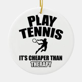 Tennis   design christmas ornament