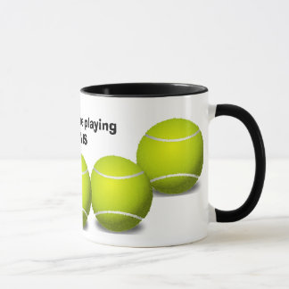 Tennis Design Coffee Mug