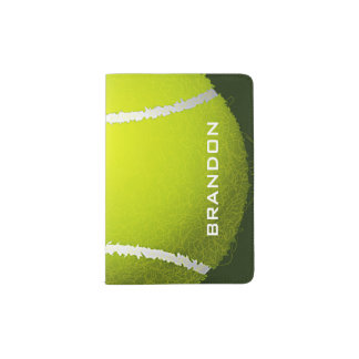 Tennis Design Passport Cover