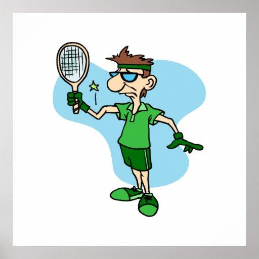 Tennis Elbow Print