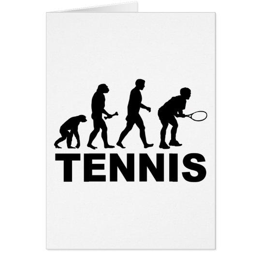Tennis Evolution Card